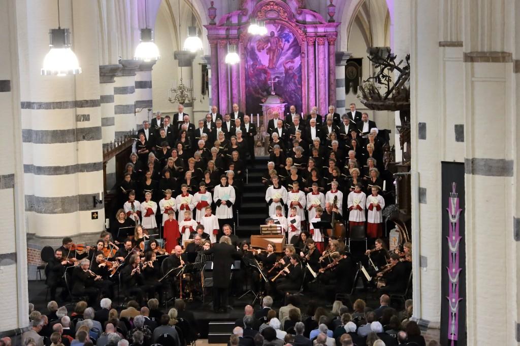 Matthäus Passion in Oirschot op 12 april 2017. Fotograaf J van Poppel