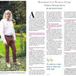 Cees Wouters 25 jaar dirigent Kempenkoor